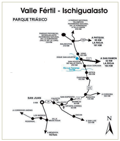 Ruta Ancestral Diaguita San Juan