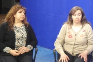 Docentes Alejandra Herrmann y Yamna Rached