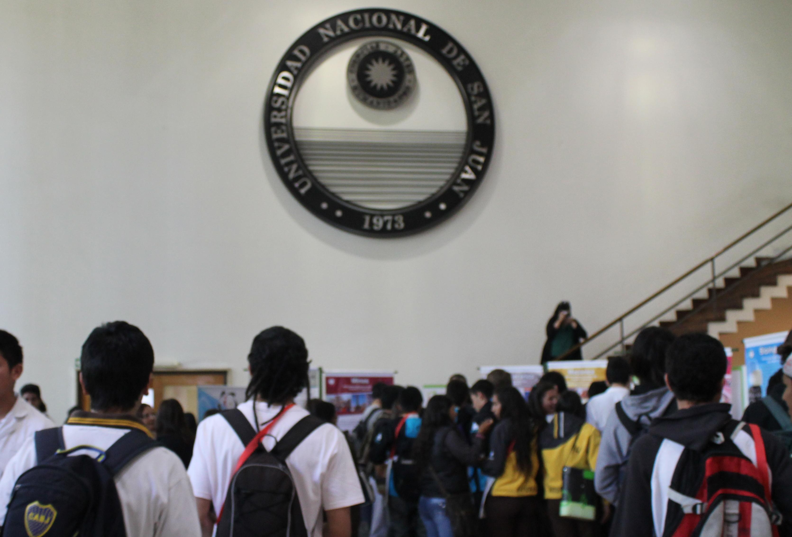 Edificio Central de la UNSJ