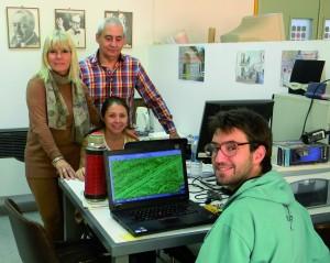 María Rosa Plana, Luis Orellano y equipo.