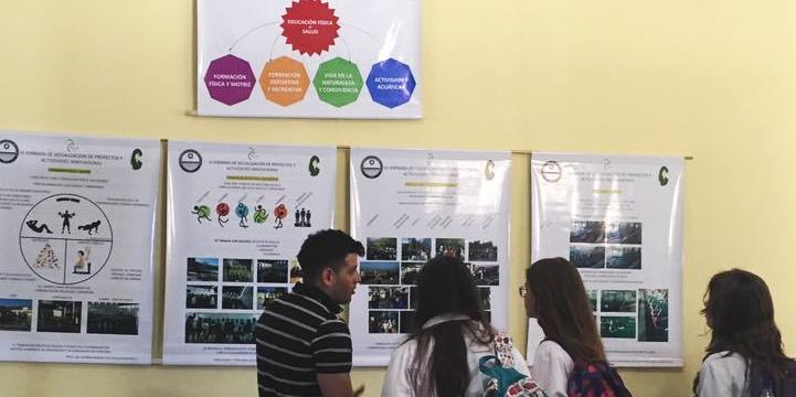 Aulas abiertas en el Colegio Central Universitario.