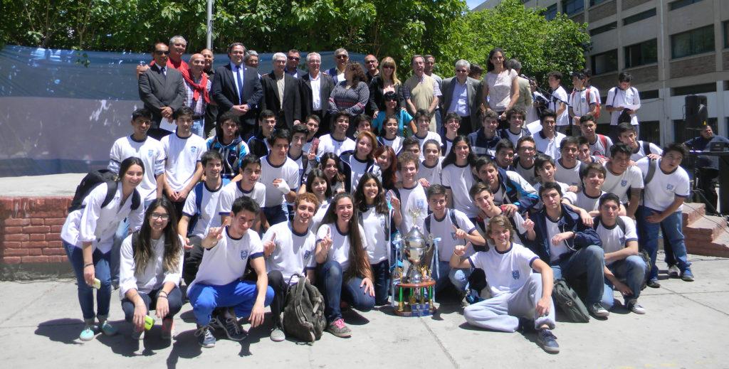 Alumnos de la EIDFS en un buen desempeño, también, en el deporte.