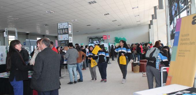 La FEDU, Feria Educativa de las Carreras de Grado que se realiza todos los años, uno de los ámbitos para mostrar, en todas las áreas, lo que la UNSJ ofrece a la comunidad.