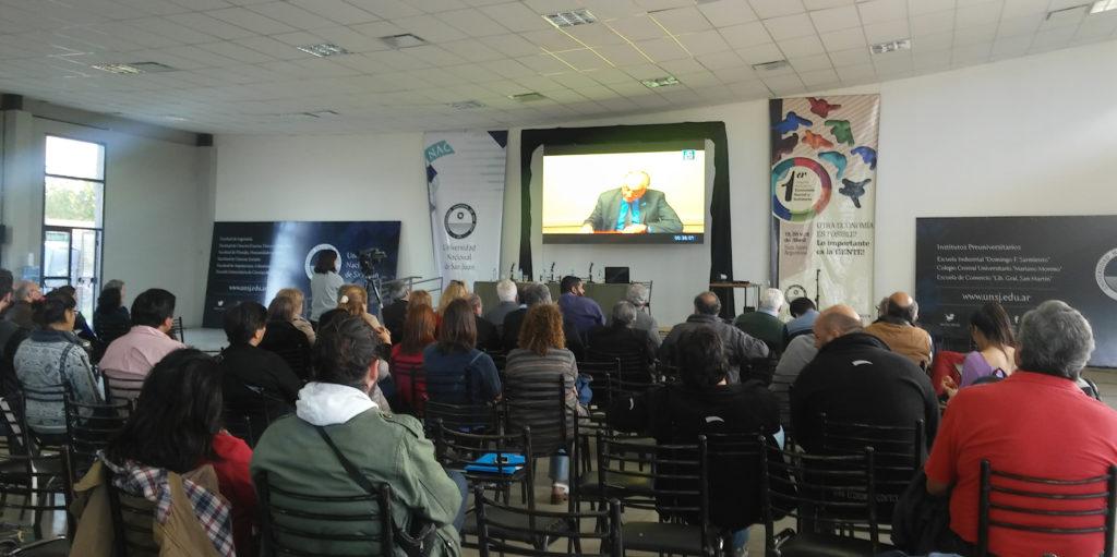 Videoconferencia de Carlos Heller