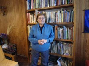 Dra. Elena Hidalgo, profesora de Ecología Social y de Extensión Sociológica Rural, en la UNSJ