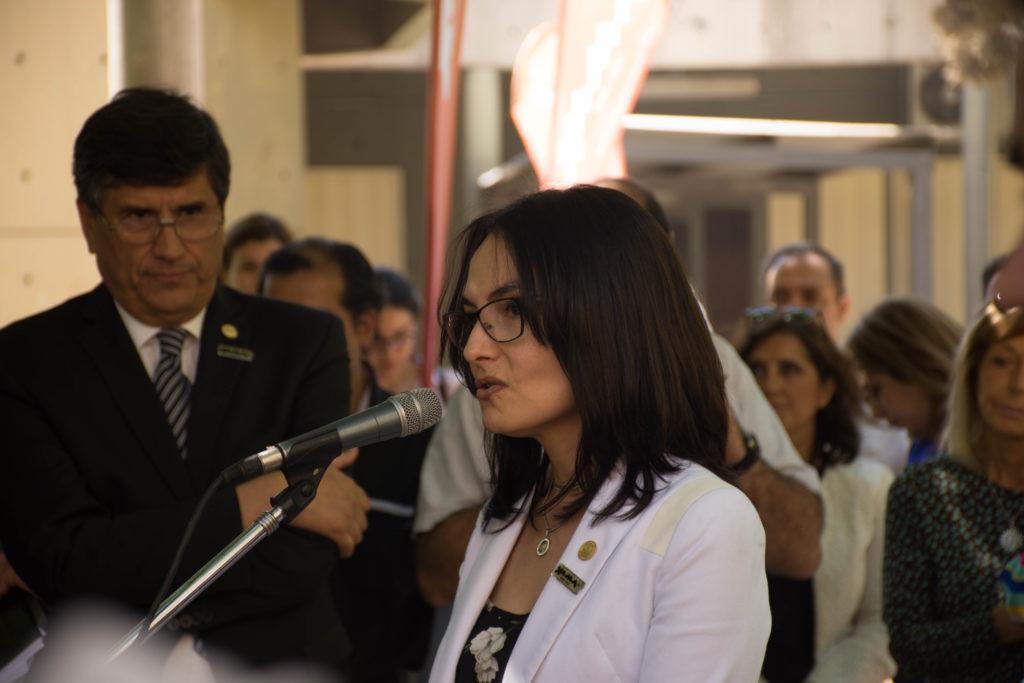 """""""El canal de TV universitario es una construcción colectiva"""", expresa Mariela Miranda, secretaria de Comunicación de la UNSJ."""