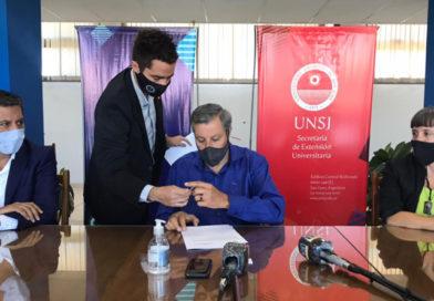 La UNSJ formalizó acuerdos de trabajo con organismos e instituciones